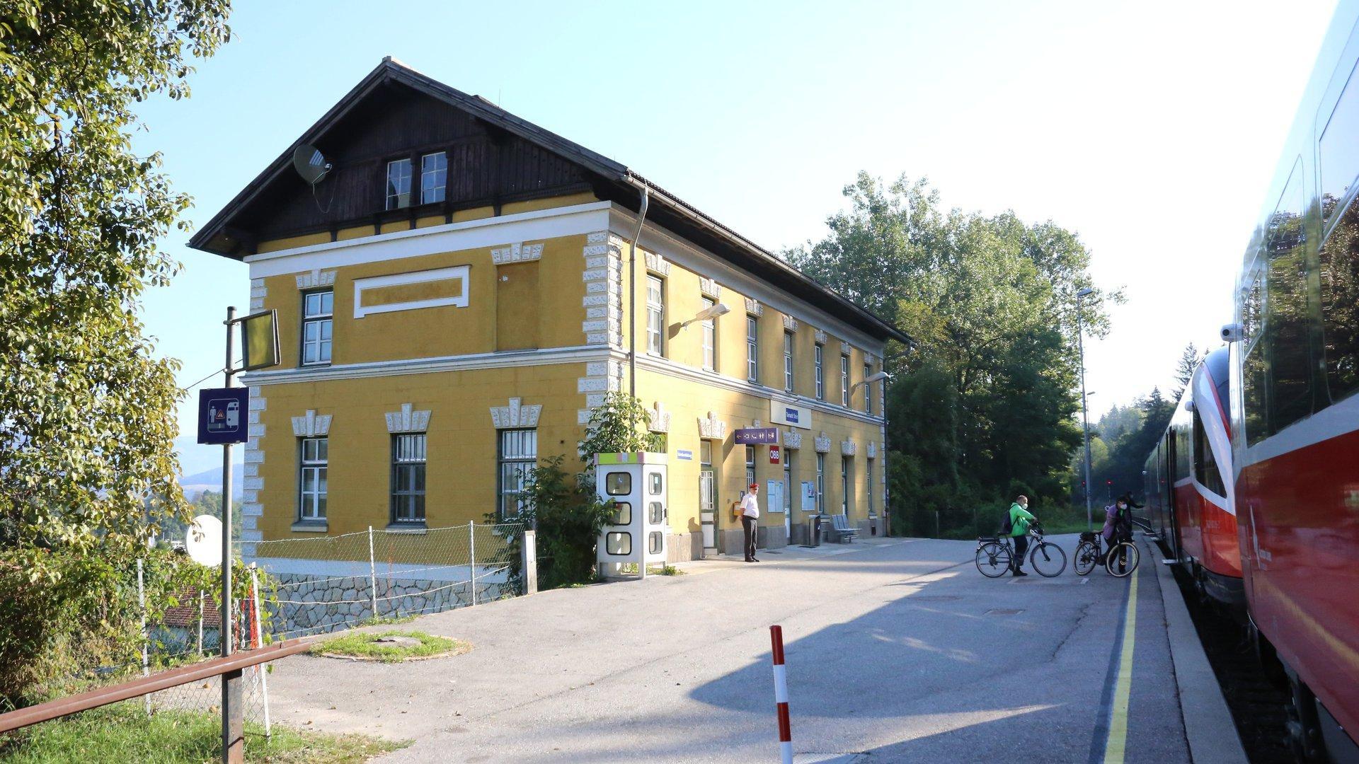 Tainach-Stein Bahnhof