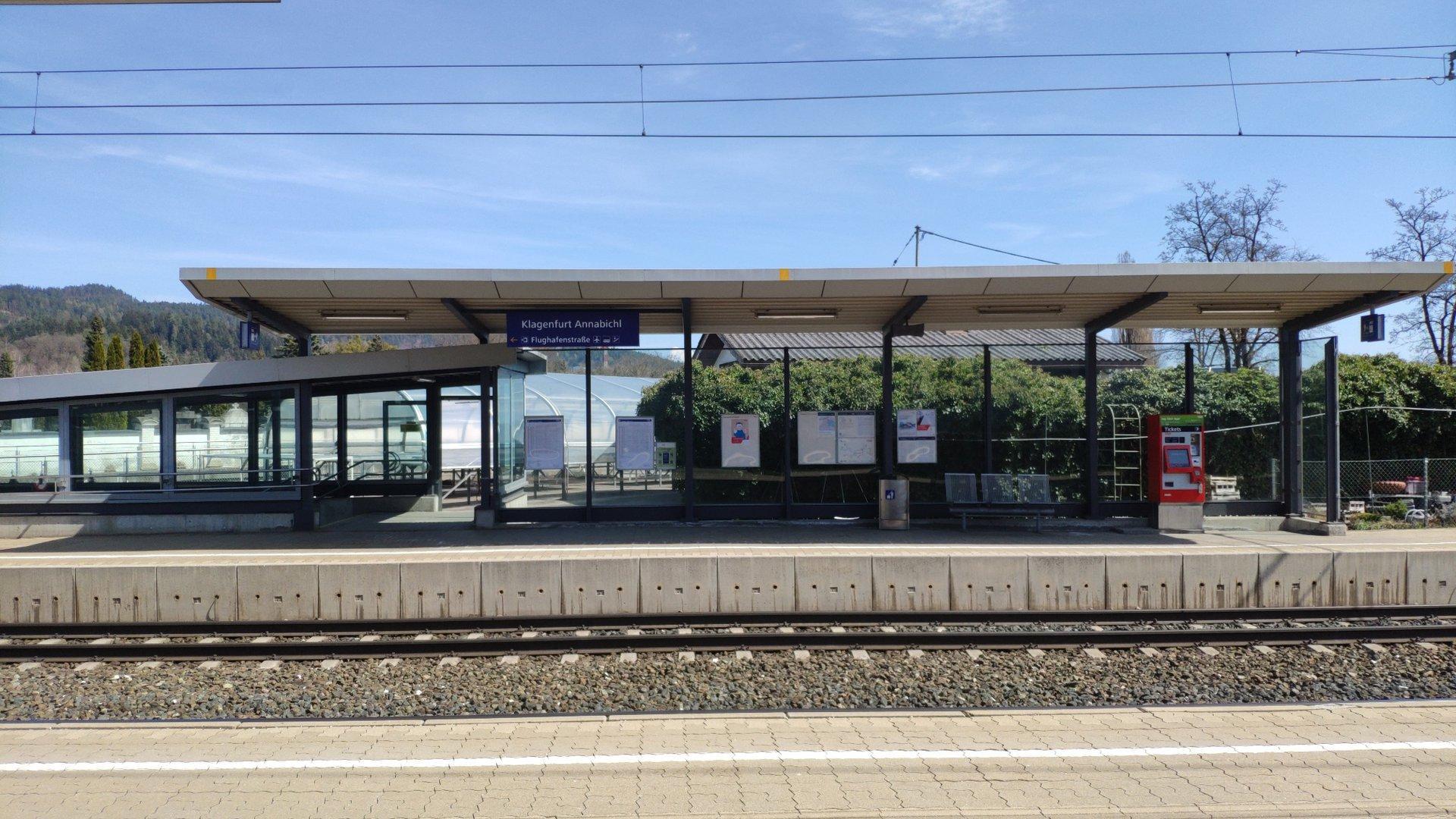 Klagenfurt Annabichl Bahnhof