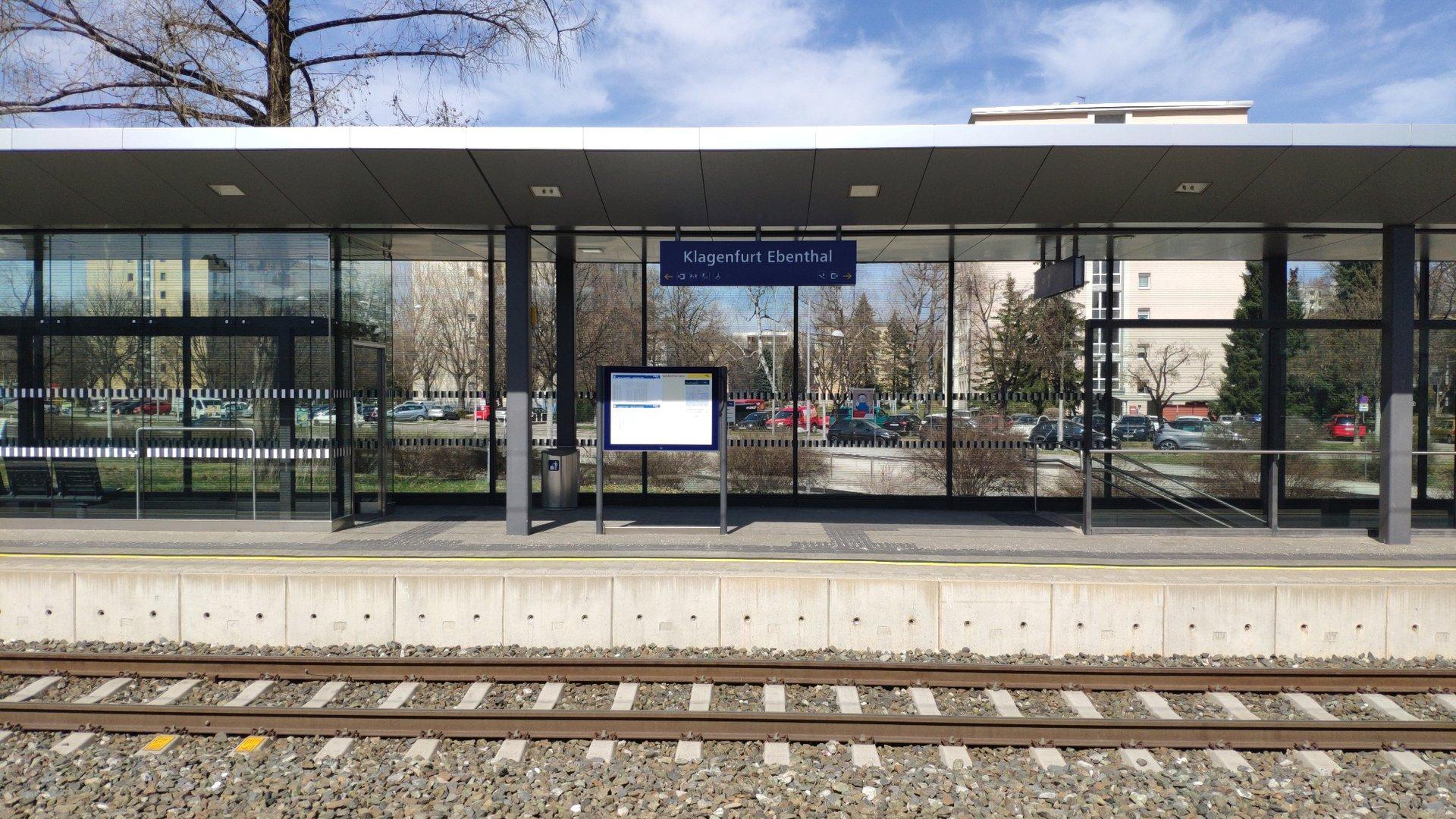 Klagenfurt Ebenthal Bahnhof
