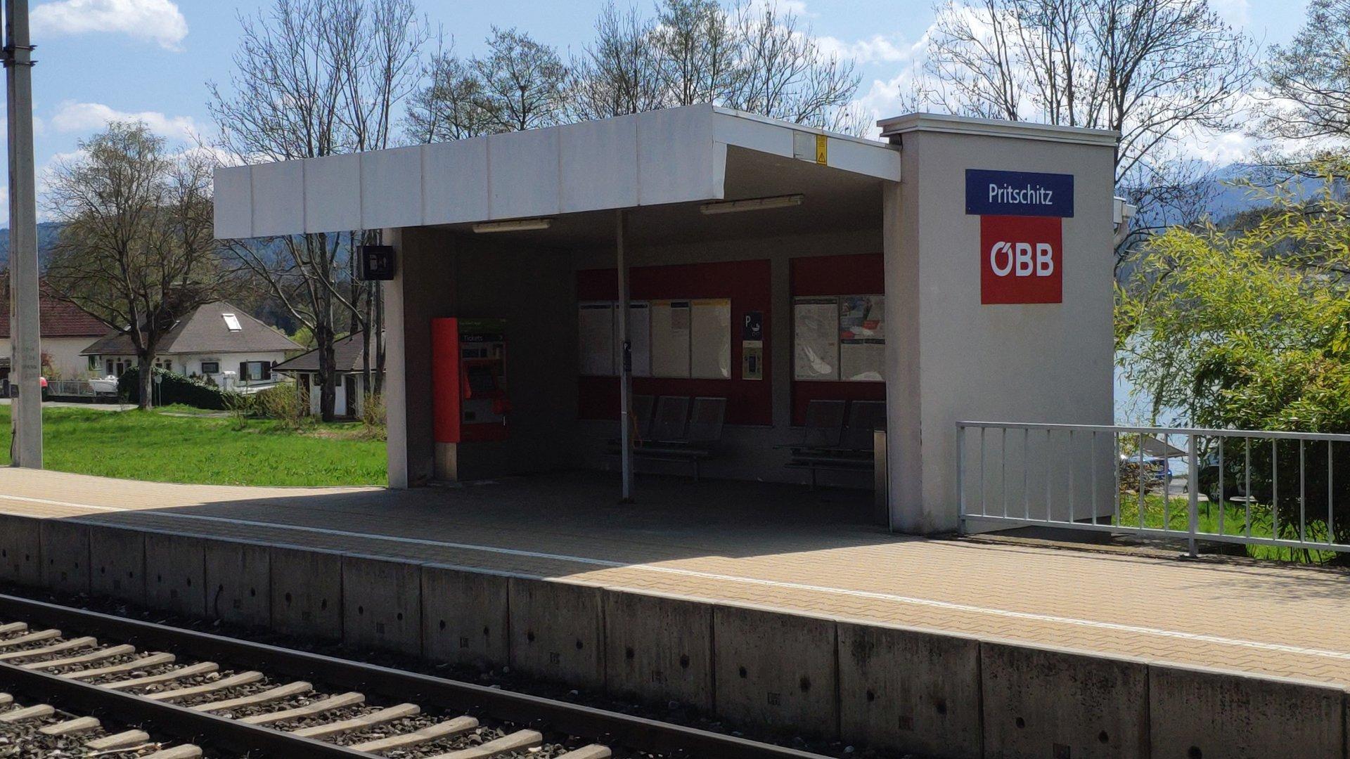 Pritschitz Bahnhof