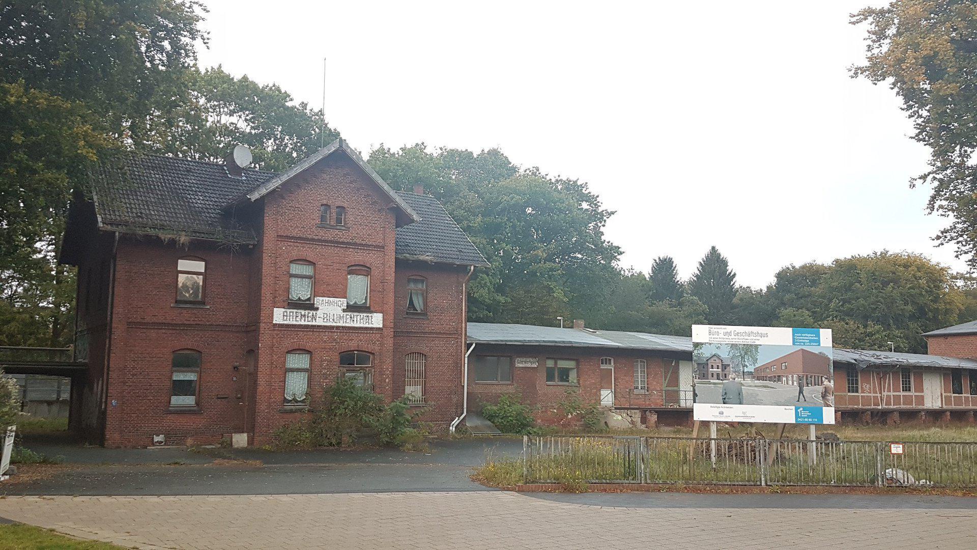 Bremen-Blumenthal (altes Bahnhofsgebäude)
