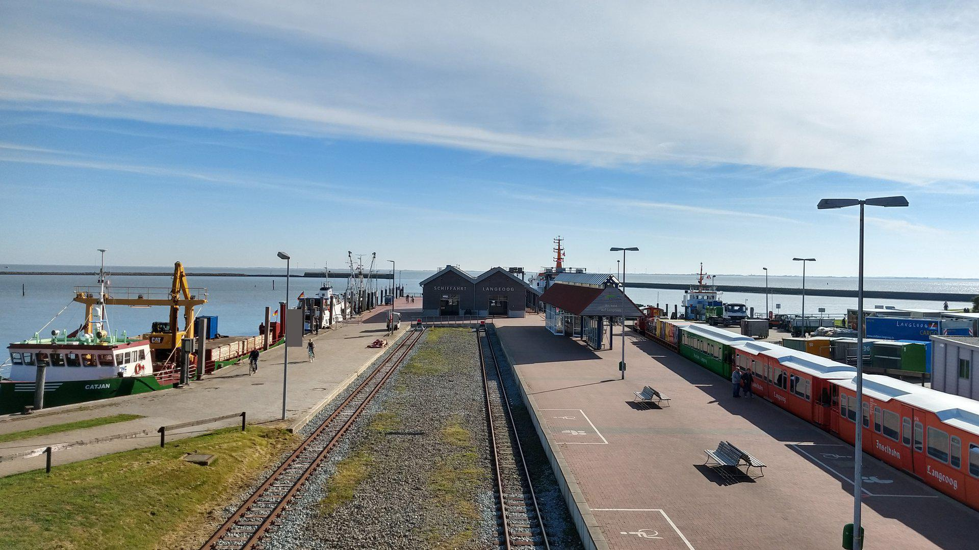 Langeoog Hafen