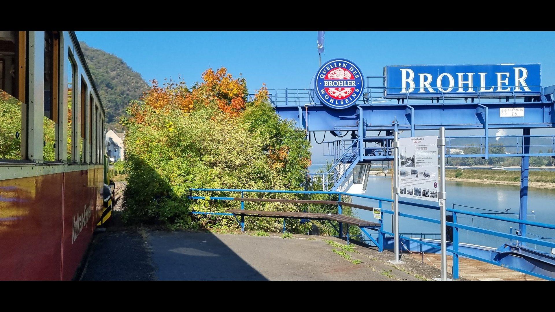 Brohl Hafen
