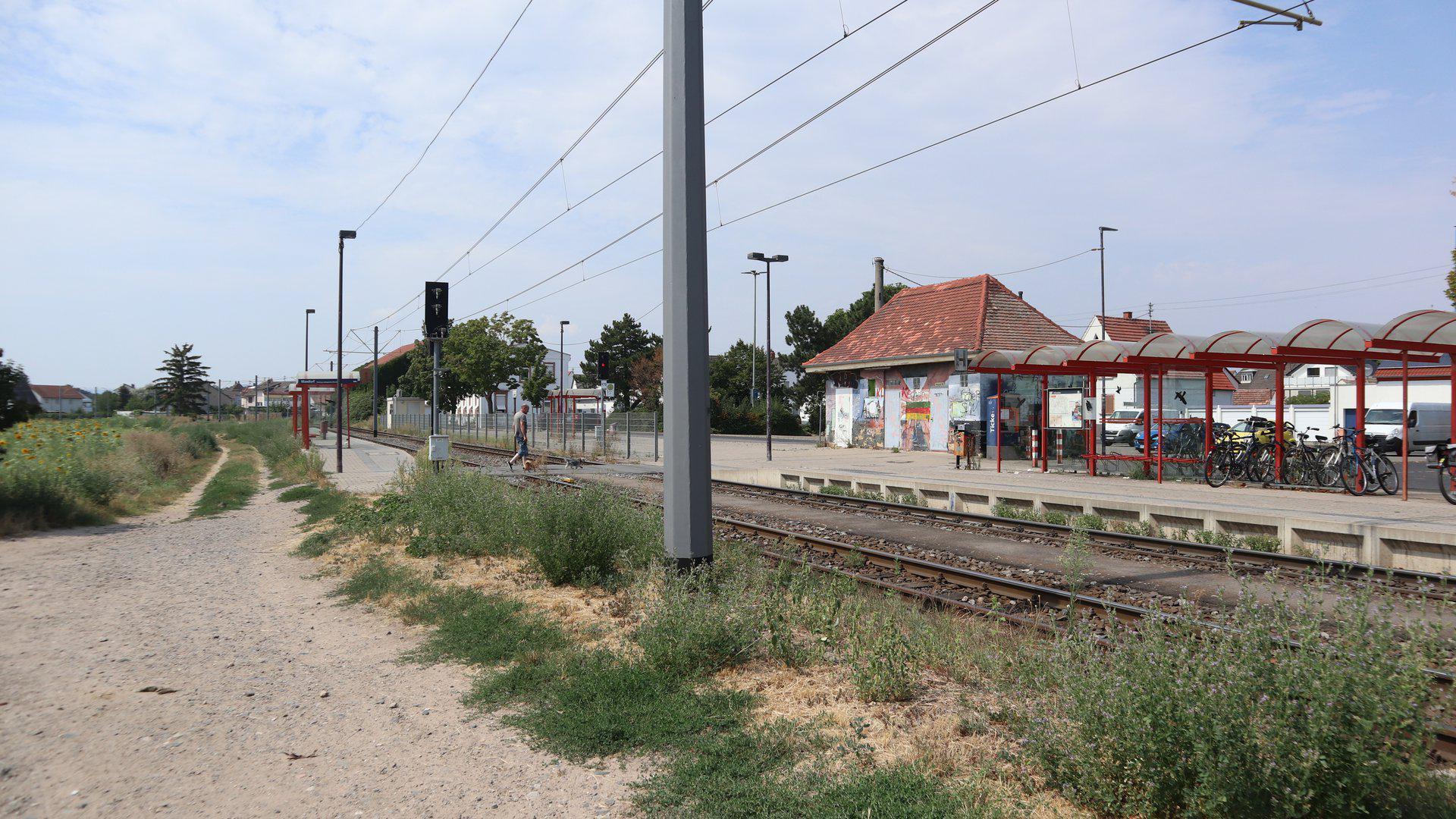 Maxdorf Bahnhof