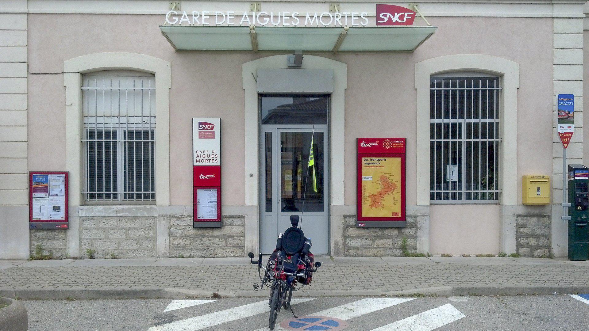 Bahnhof Aigues Mortes